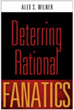 Alex Wilner's book cover deterring rational fanatics